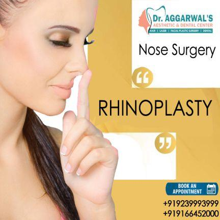 RHINOPLASTY At Dr Aggarwals